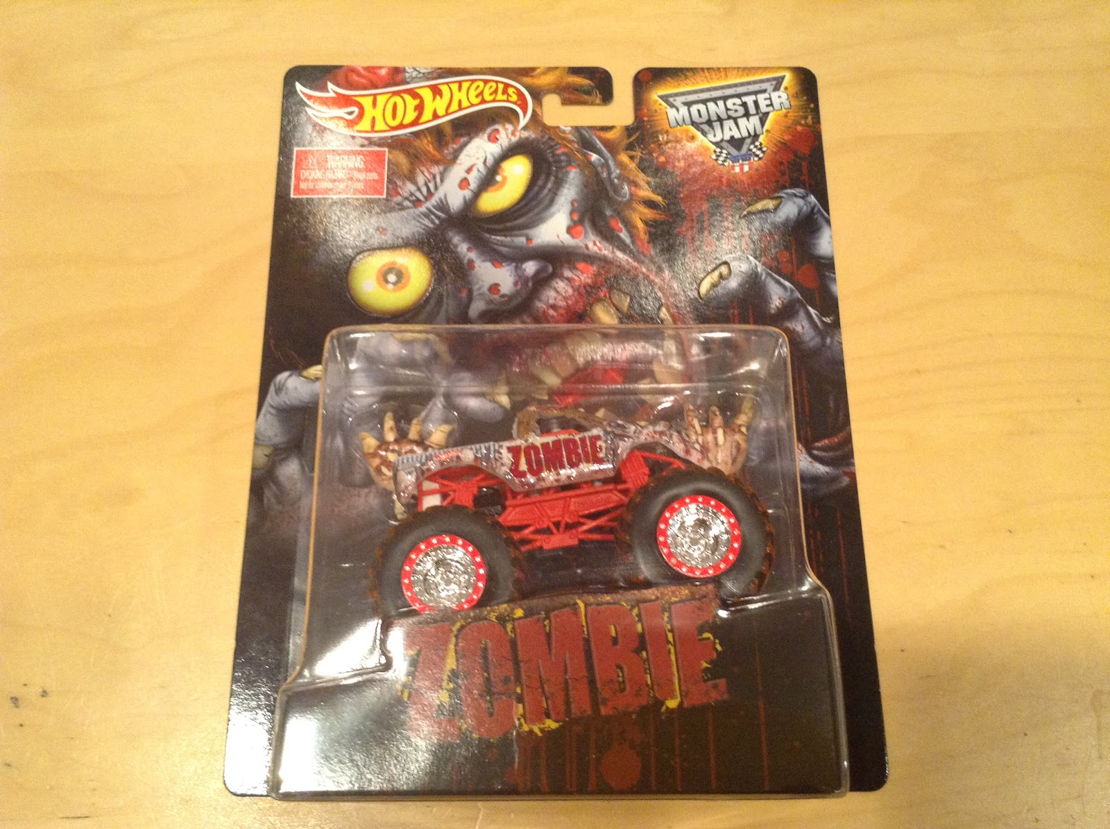 Julian's Hot Wheels Blog: Zombie Monster Jam Truck (2015 ...