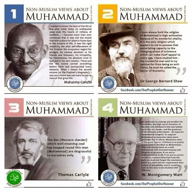 NON MUSLIM VIEWS ABOUT MUHAMMAD S A W