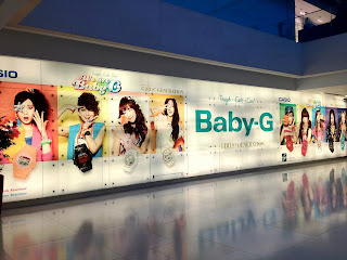 SNSD Girls Generation Casio Baby G Ion Orchard Singapore