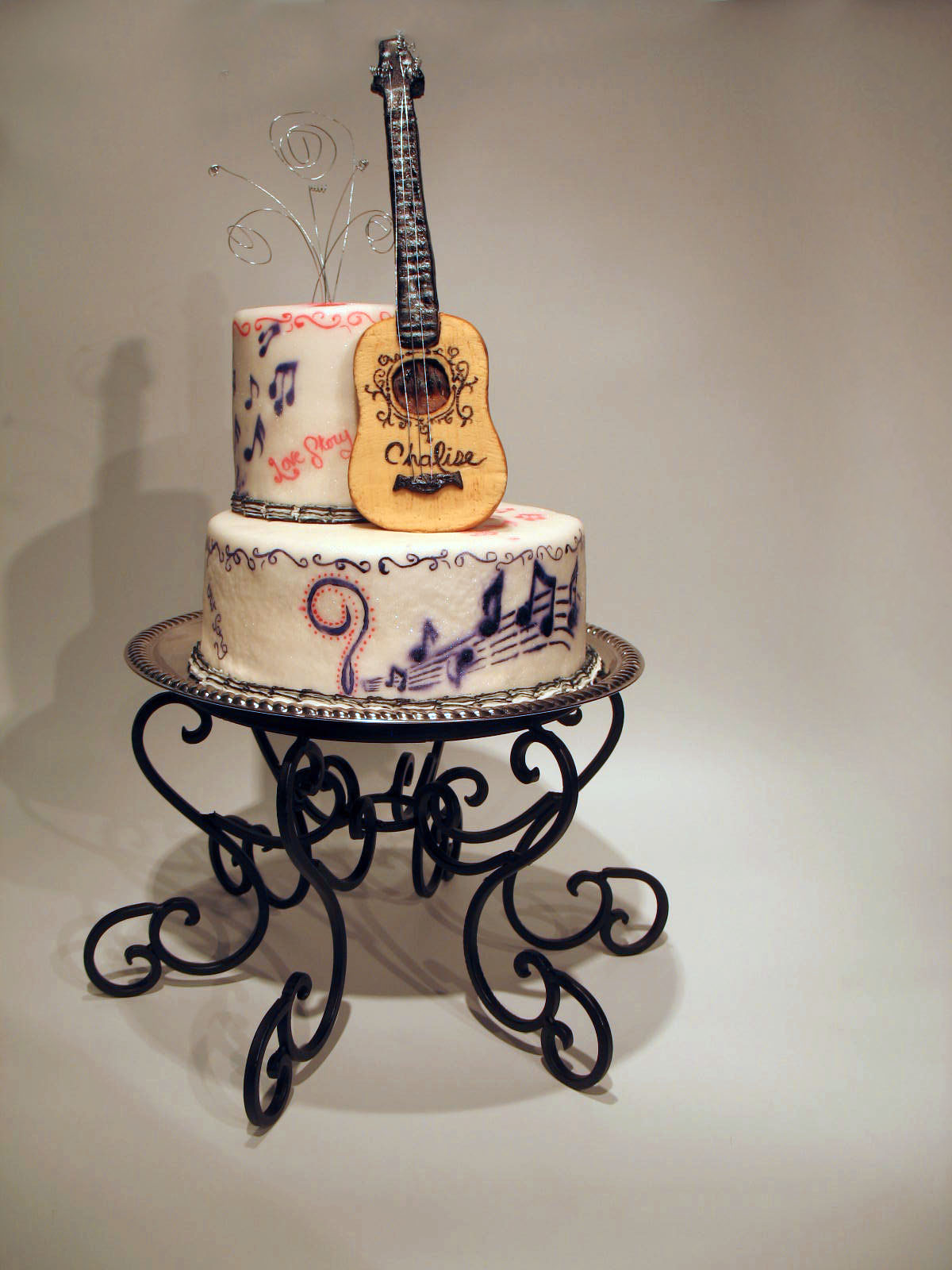 Bake Me A Kake Taylor Swift Guitar Cake