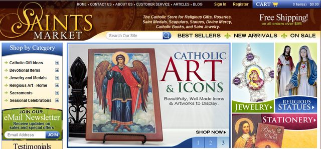 CatholicGiftStores.com - Your Favorite Catholic Store
