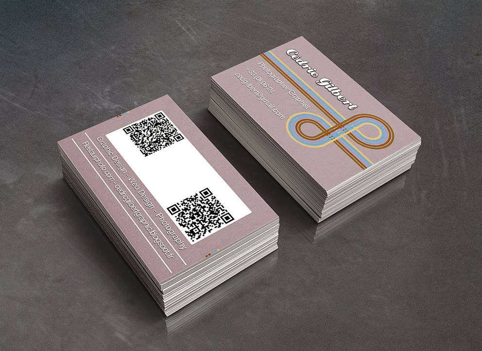 Graphic Business Cards Cartes De Visite Graphiques