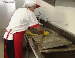 Seguridad e higiene tema 2 limpieza y desinfecci n de for Utillaje cocina