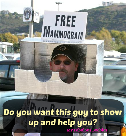 Do you want this guy to show up and help you?