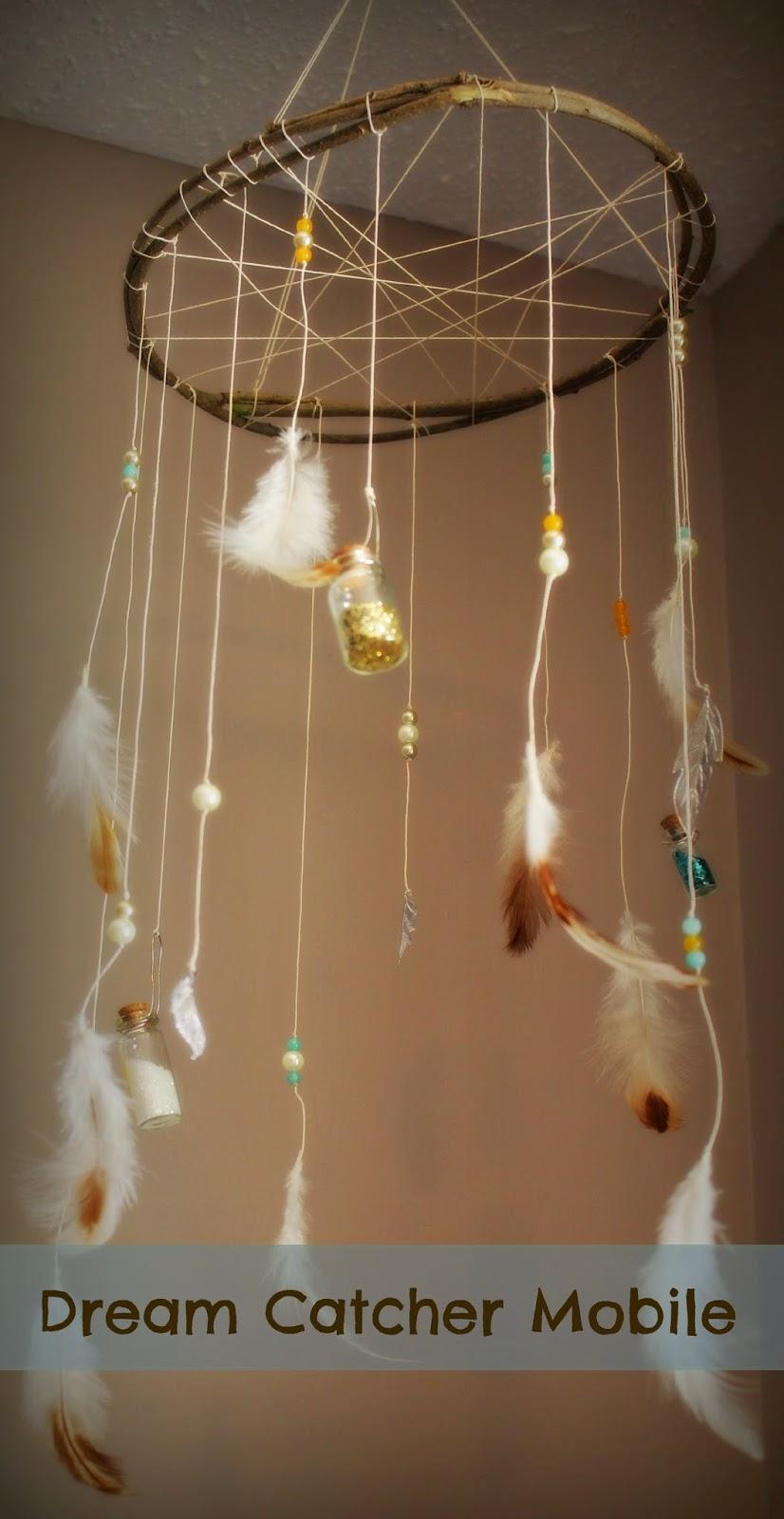 Babys Nest: DIY Dream Catcher Mobile