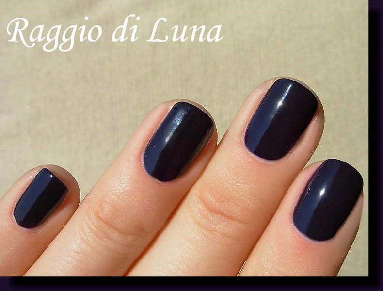 Raggio di Luna Nails: Kiko Quick Dry n° 829 Blueberry
