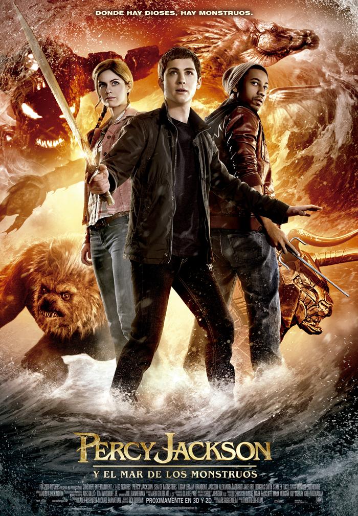 Póster de Percy Jackson y el mar de los monstruos