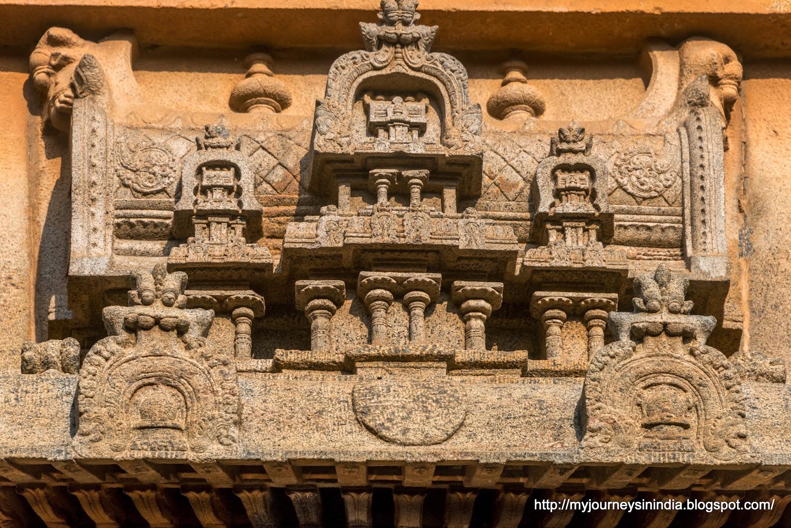 Thanjavur Brihadeeswarar Temple Ganesha Intricate Carvings