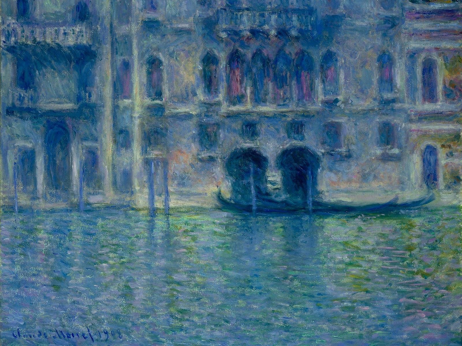 monet palazzo da mula Palazzo da mula at venice, 1908 by claude monet impressionism cityscape.