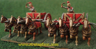 Scythed chariots