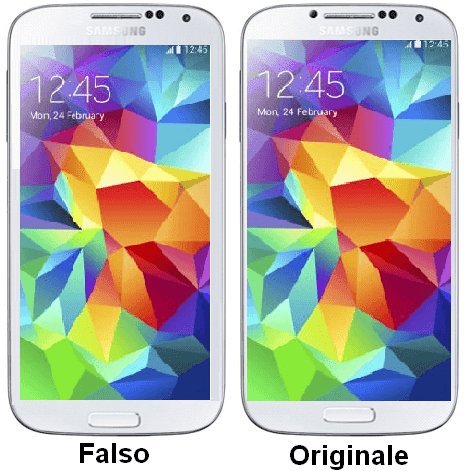 Samsung Galaxy Falso vs Originale
