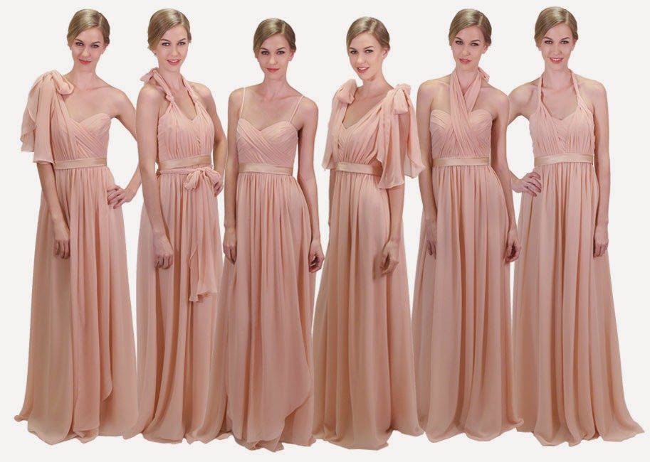 Convertible Bridesmaid Dress From CocoMelody.com - [10 Ways ...