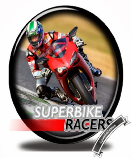 Superbike Racers Cover, Poster