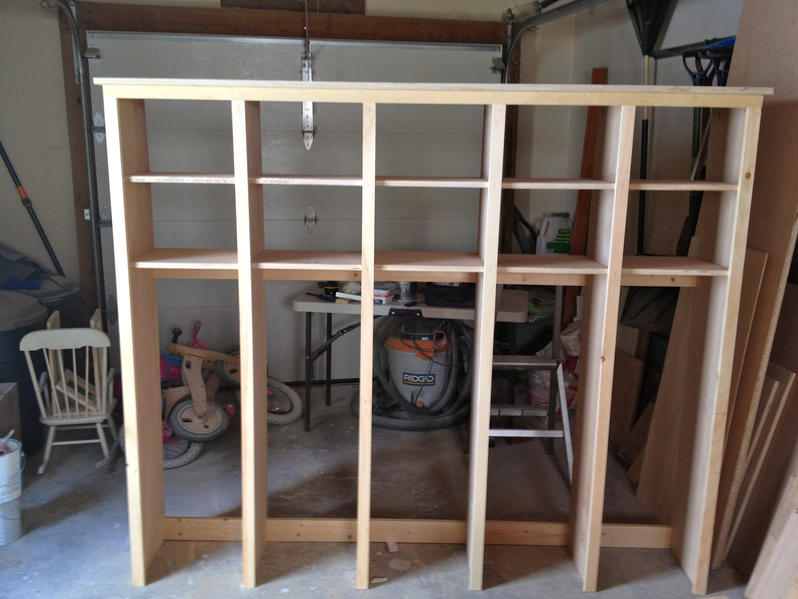 That's My Letter: DIY Locker & Bench Units