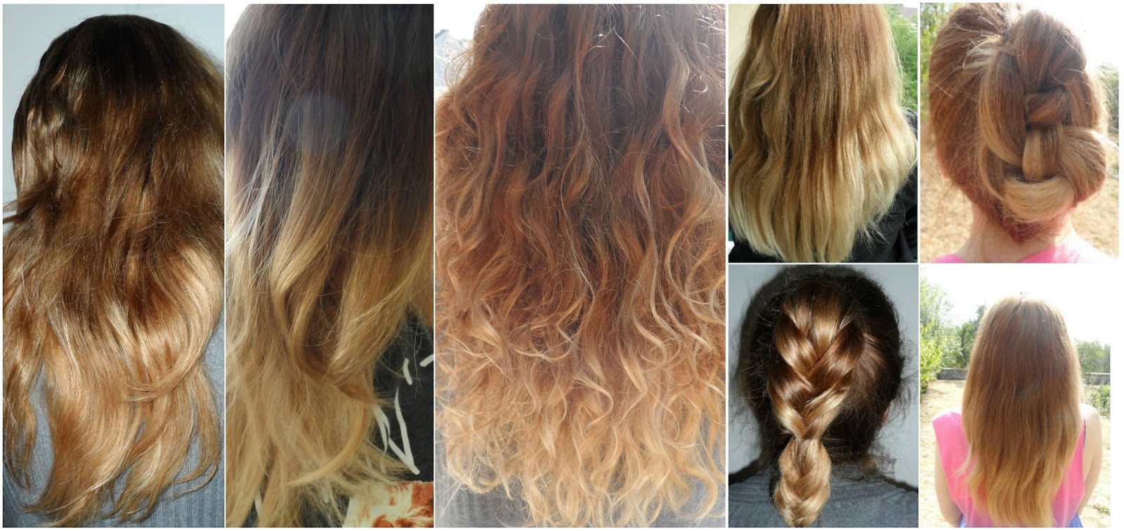 A temporary hair change another kind of beauty blog f - Ombre blond braun ...