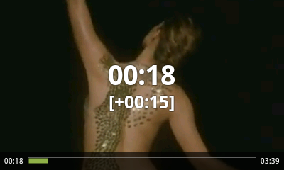 Android Video Player - Fast Forward