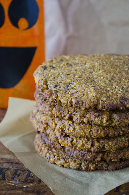 Pumpkin Oat Chocolate Chip Cookies (Gluten Free)