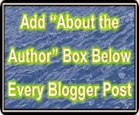 Add About Author Box below every Blogger Blog Post
