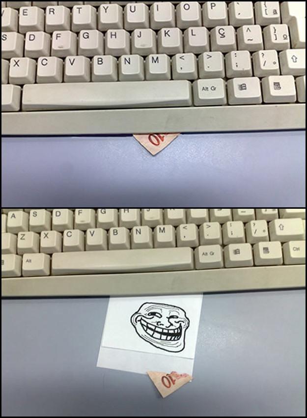 trollar alguem computador