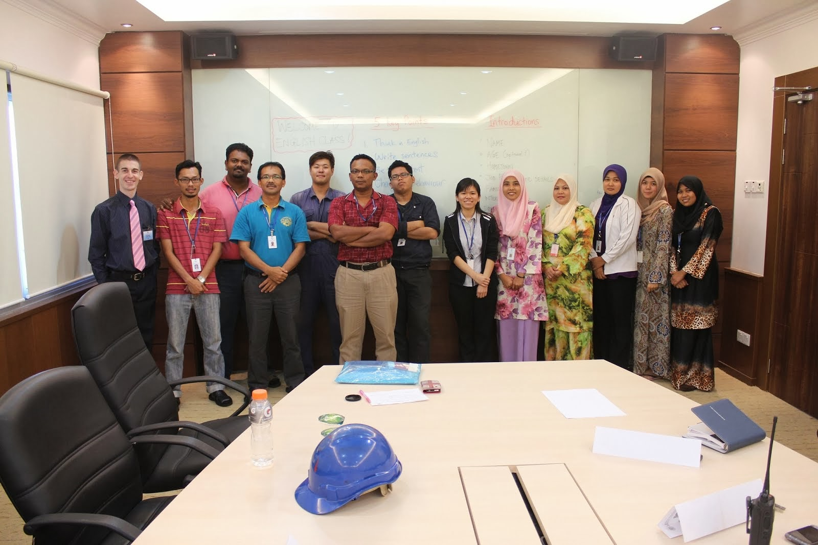CSA Chemicals Sdn Bhd English class