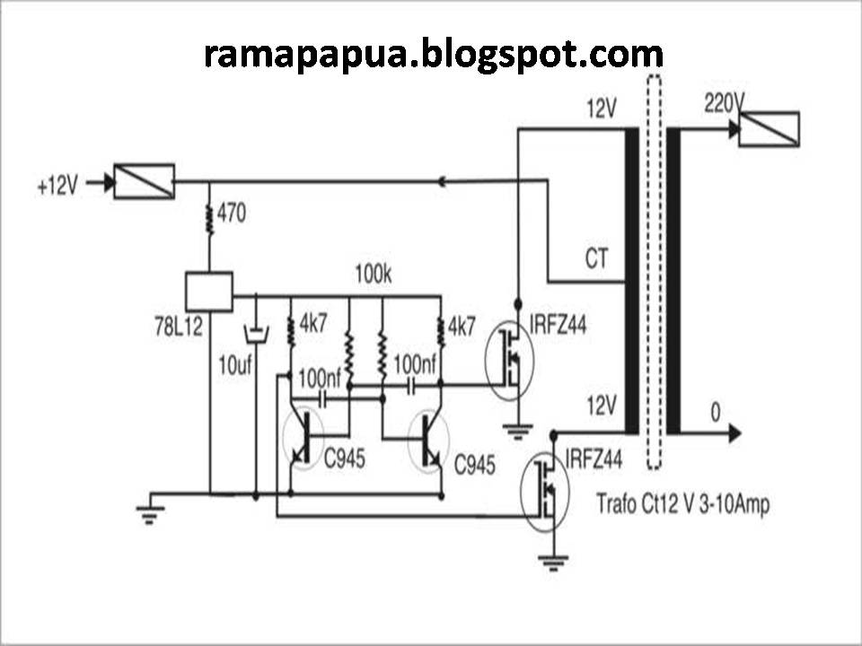Buah Tangan Qu Inverter Dc 12v Menjadi Ac 220 V 1000 Watt