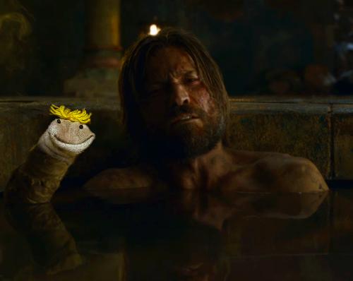 Jaime Lannister marioneta - Jeugo de Tronos en los siete reinos