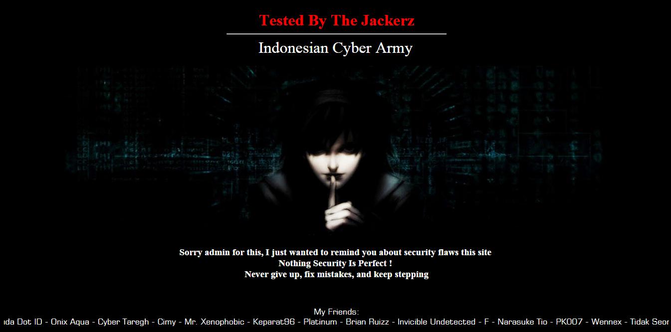 Website Partai Hanura Diretas The Jackerz
