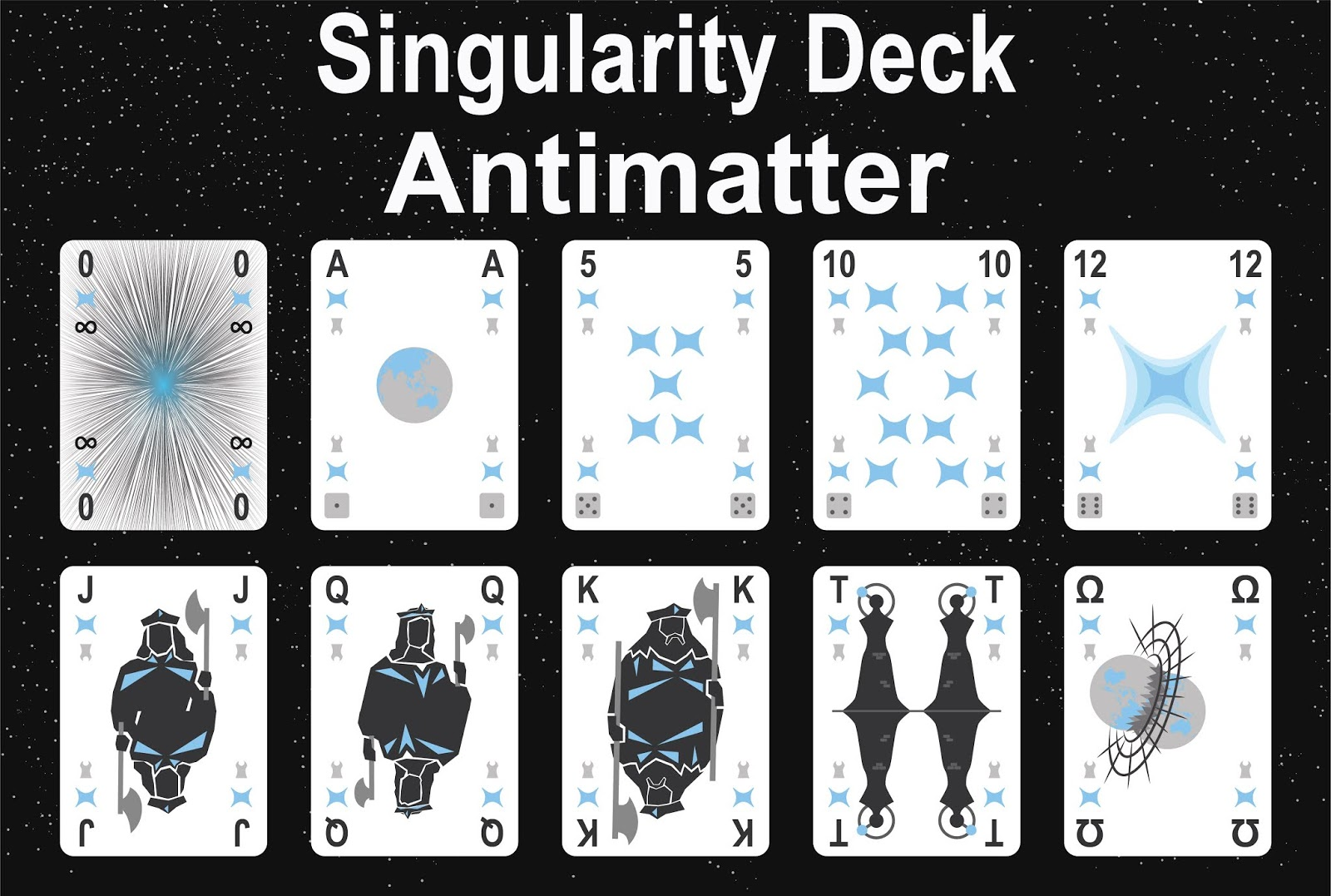 The Singularity Deck - Antimatter Art