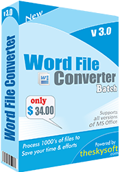 Download Word File Converter Batch