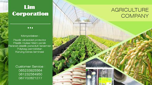 Jual Plastik Untuk Pertanian Perkebunan dan Perikanan
