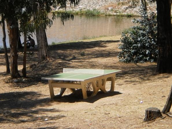 Mesa de Ping Pong na prai Fluvial Gameiro