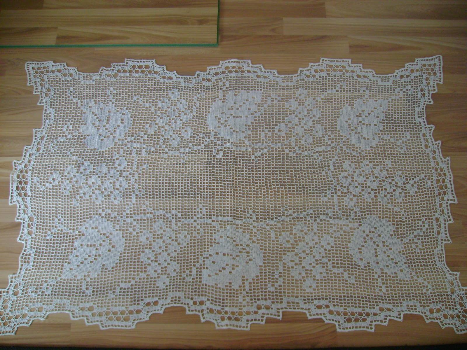 Crochet On Sale: Crochet Tablecloths