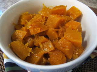 Candied Pumpkin and Pecans
