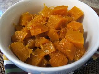 Candied Pumpkin and Pecans