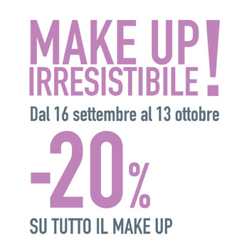 OVS - Promozione Make Up Irresistibile -20%