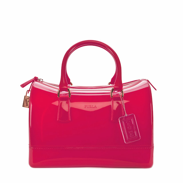 "Fetish Accessories : Furla ""Candy"" Bag In Rubber"