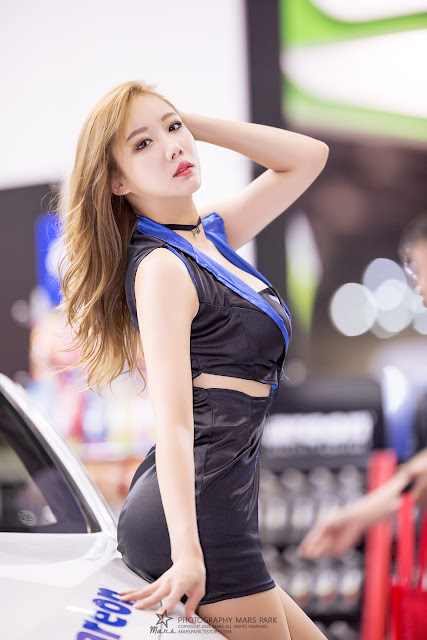 4 Seo Aran - Automotive Week 2015 - very cute asian girl-girlcute4u.blogspot.com