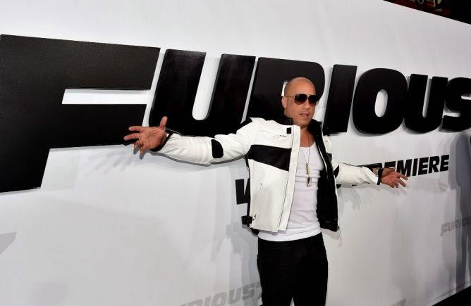 Vin Diesel Premiere FF7