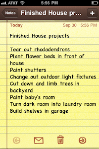 Finished House Projects