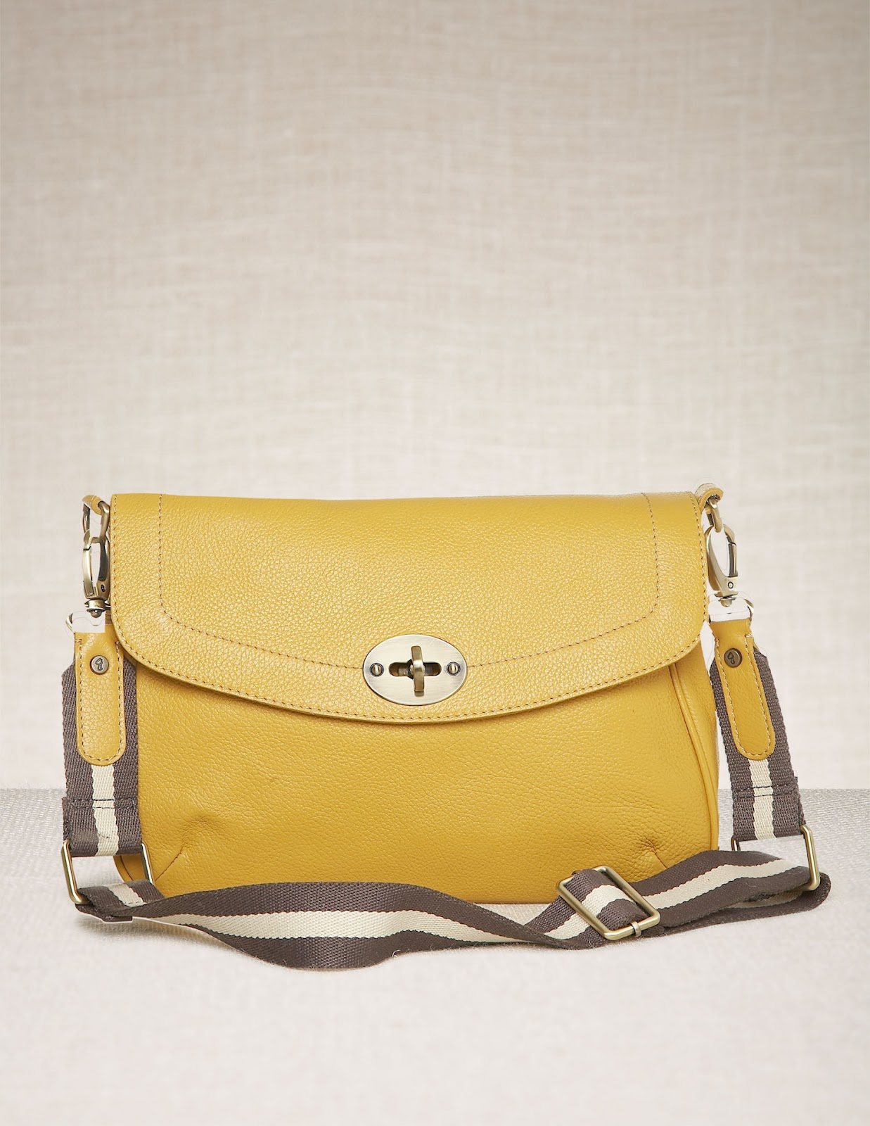 Lemons and chambray by winavie spring bags for Boden yellow bag