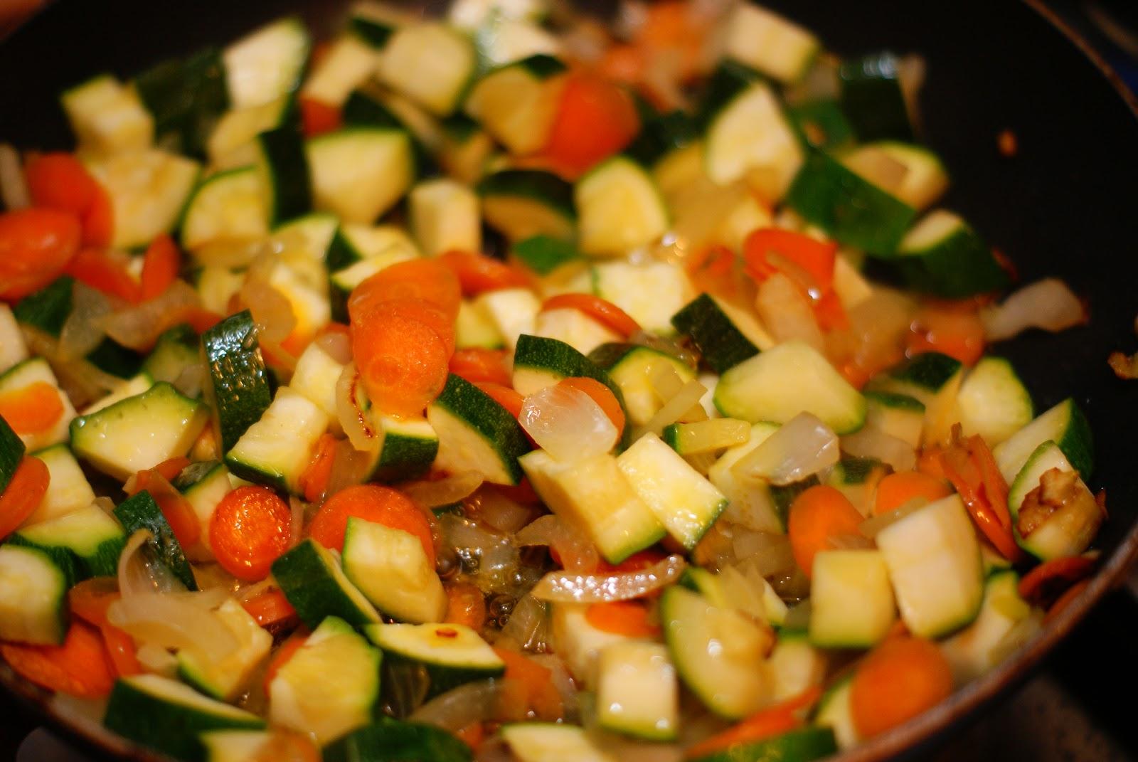 Рагу из овощей рецепт на сковороде