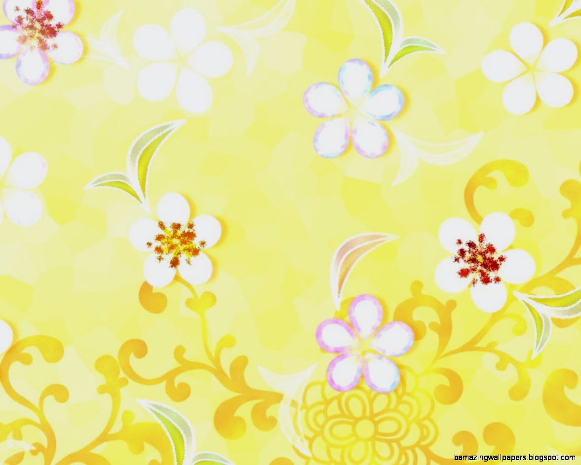 Yellow Fl Background Tumblr  Amazing Wallpapers
