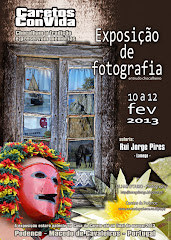 Exposio de fotografia de minha autoria relacionada com os caretos de podence
