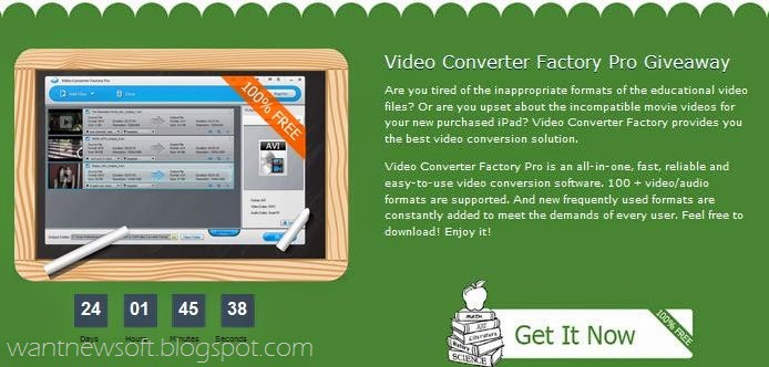 Video Converter Factory Pro Image