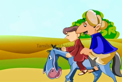 The Man, the Boy, and the Donkey 6 - Aesop Moral Story