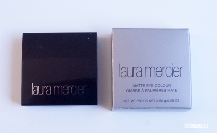 Laura Mercier Ginger Matte Eye Colour Swatch and Review