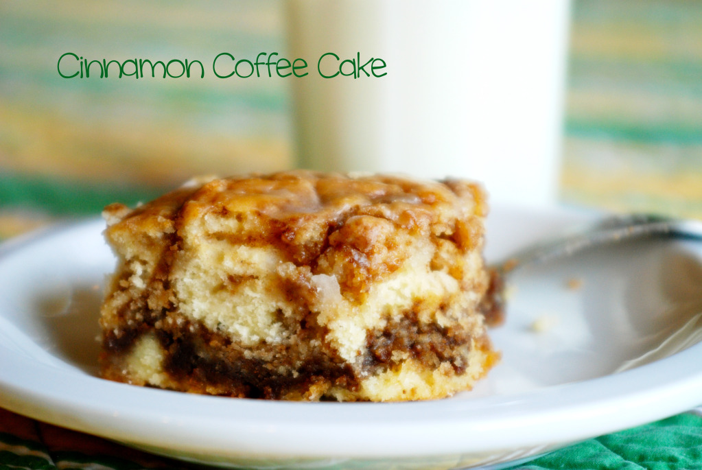 *Riches to Rags* by Dori: Cinnamon Coffee Cake