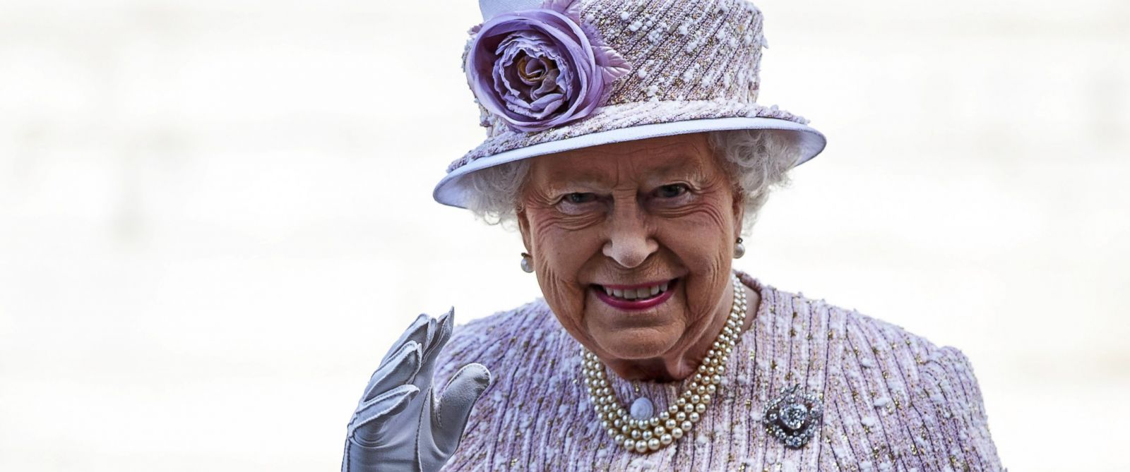 Queen Elizabeth II makes history