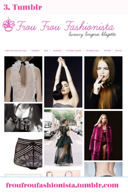 Check out our Luxury Lingerie blog on Tumblr #fairefroufrou