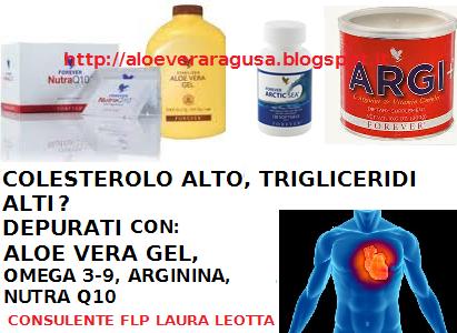 ALOE VERA RAGUSA FOREVER LIVING PRODUCTS: COLESTEROLO ALTO ...